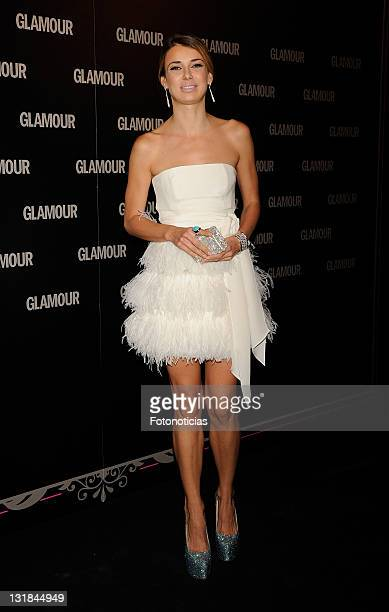 Actress Natasha Yarovenko attends Glamour 2011 Beauty Awards at Pacha on May 19 2011 in Madrid Spain