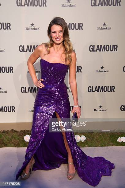 Actress Natasha Yarovenko attends Glamour Magazine 10th Anniversary Gala at Italian Embassy on June 26 2012 in Madrid Spain
