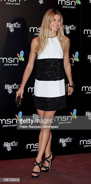 Actress Natasha Yarovenko attends new 'MSN' presentation at Shoko on March 2 2011 in Madrid Spain