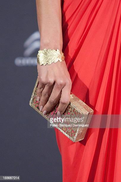 Actress Natasha Yarovenko attends Telva Fashion Awards at Palace Hotel on November 6 2012 in Madrid Spain
