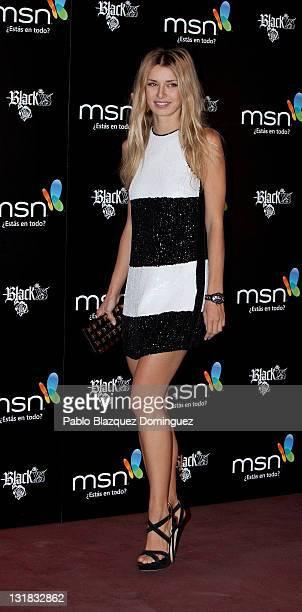 Actress Natasha Yarovenko attends the new 'MSN' presentation at Shoko on March 2 2011 in Madrid Spain