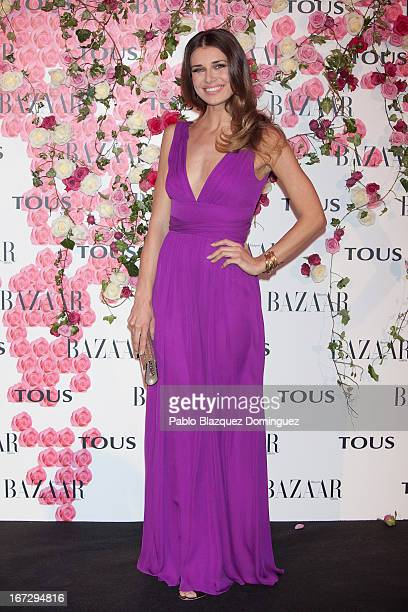Actress Natasha Yarovenko attends the presentation of the new fragrance 'Rosa' at Ritz Hotel on April 23 2013 in Madrid Spain