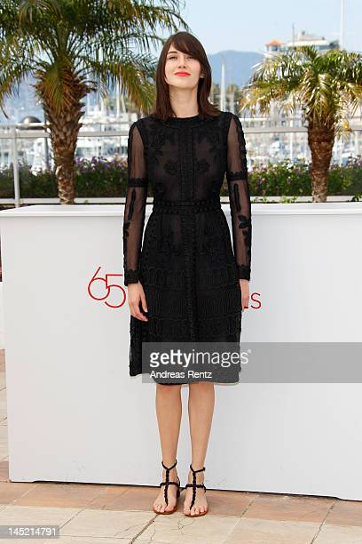 Actress Nathalia Acevedo attends the Post Tenebras Lux photocall during the 65th Annual Cannes Film Festival at Palais des Festivals on May 24 2012...