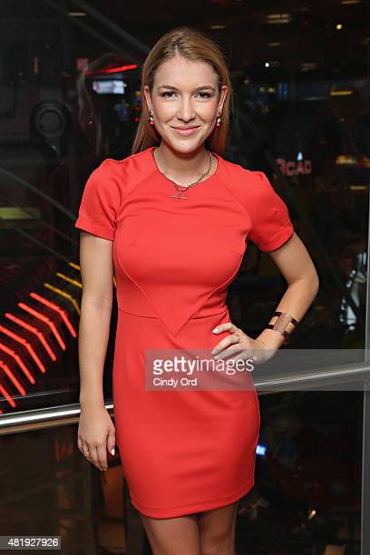 Actress Nathalia Ramos attends the Bratz Launch Event at Toys'R'Us Times Square on July 25 2015 in New York City