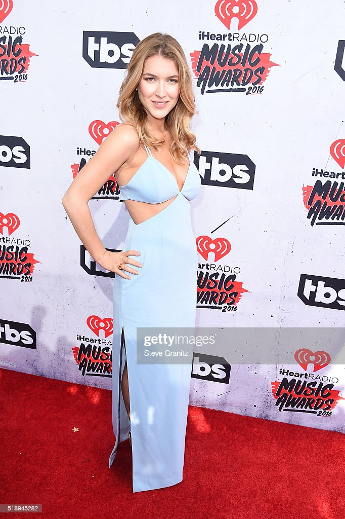 Actress Nathalia Ramos attends the iHeartRadio Music Awards at The Forum on April 3, 2016 in Inglewood, California.