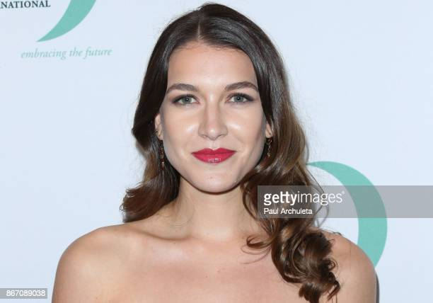 Actress Nathalia Ramos attends the Whole Child International's inaugural gala at the Regent Beverly Wilshire Hotel on October 26 2017 in Beverly...