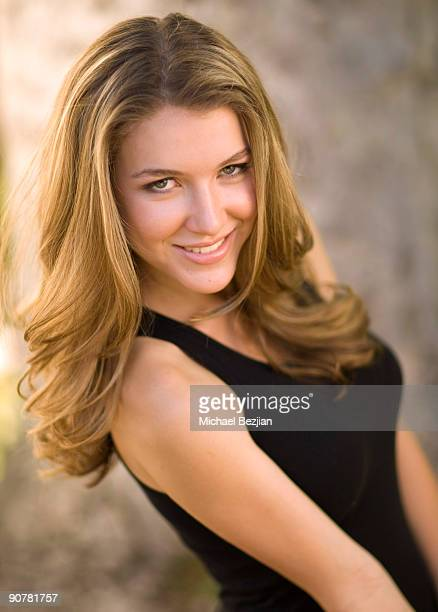 ANGELES CA SEPTEMBER 14 Actress Nathalia Ramos poses at her Studio Photo Shoot on September 14 2009 in Los Angeles California