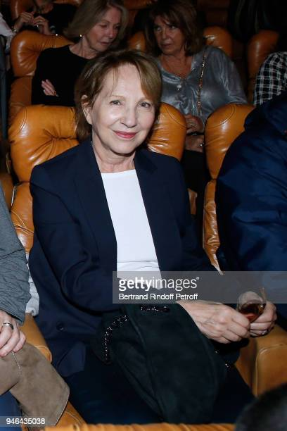 Actress Nathalie Baye attends Sylvie Vartan performs at Le Grand Rex on April 14 2018 in Paris France