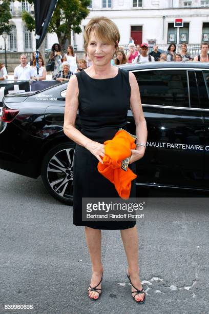 Actress Nathalie Baye attends the 10th Angouleme FrenchSpeaking Film Festival Closing Ceremony on August 27 2017 in Angouleme France