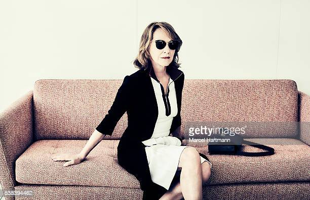 Actress Nathalie Baye is photographed for Self Assignment on May 15 2016 in Cannes France