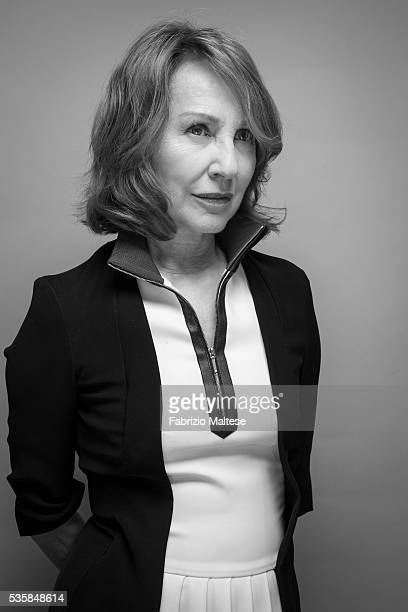 Actress Nathalie Baye is photographed for The Hollywood Reporter on May 14, 2016 in Cannes, France.