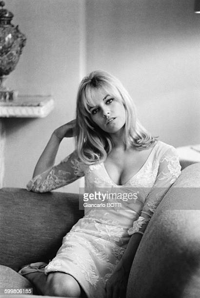 Actress Nathalie Delon In France In May 1966