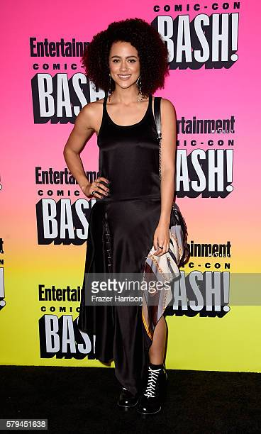 Actress Nathalie Emmanuel attends Entertainment Weekly's ComicCon Bash held at Float Hard Rock Hotel San Diego on July 23 2016 in San Diego...