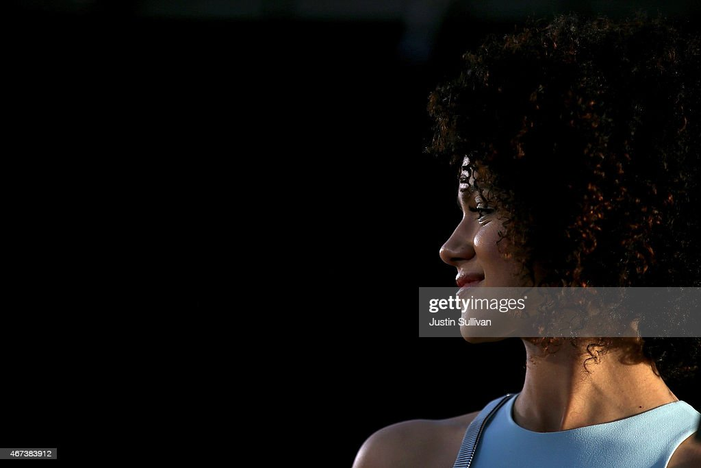 Actress Nathalie Emmanuel attends the premiere of HBO's 'Game of Thrones' Season 5 at San Francisco Opera House on March 23, 2015 in San Francisco, California.