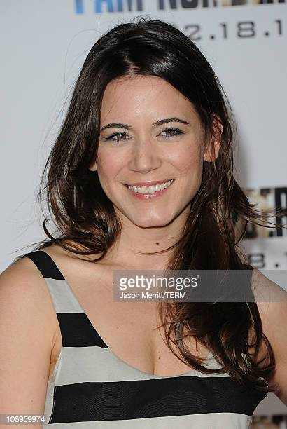 Actress Nathalie Fay arrives at the premiere of DreamWorks Pictures' 'I Am Number Four' at Village Theatre on February 9 2011 in Westwood California