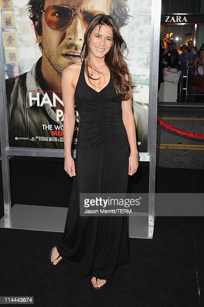 Actress Nathalie Fay arrives at the premiere of Warner Bros The Hangover Part II at Grauman's Chinese Theatre on May 19 2011 in Hollywood California