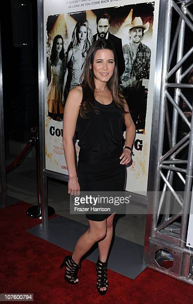 Actress Nathalie Fay arrives at the screening of Screen Gems' 'Country Strong' at The Academy of Motion Picture Arts Sciences on December 14 2010 in...