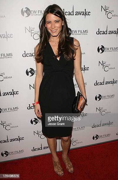 Actress Nathalie Fay attends the Dead Awake Premiere at Arclight Hollywood on November 30 2010 in Hollywood California