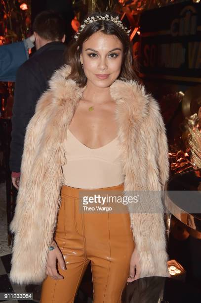 Actress Nathalie Kelley attends Citi Sound Vault Presents Childish Gambino at Irving Plaza on January 27 2018 in New York City