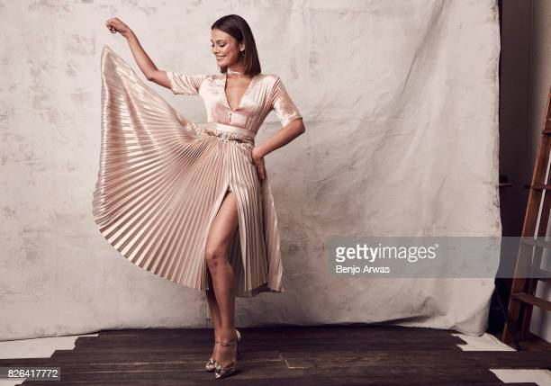 Actress Nathalie Kelley of CW's 'Dynasty' poses for a portrait during the 2017 Summer Television Critics Association Press Tour at The Beverly Hilton...