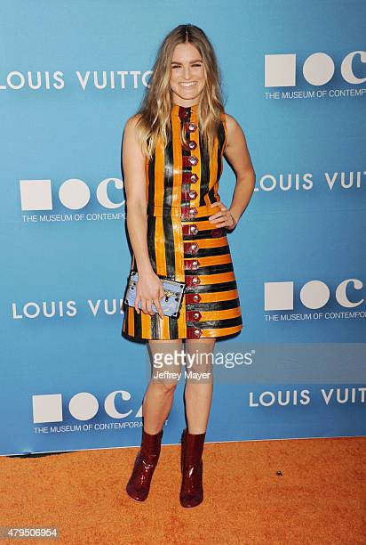 Actress Nathalie Love arrives at the 2015 MOCA Gala presented by Louis Vuitton at The Geffen Contemporary at MOCA on May 30 2015 in Los Angeles...