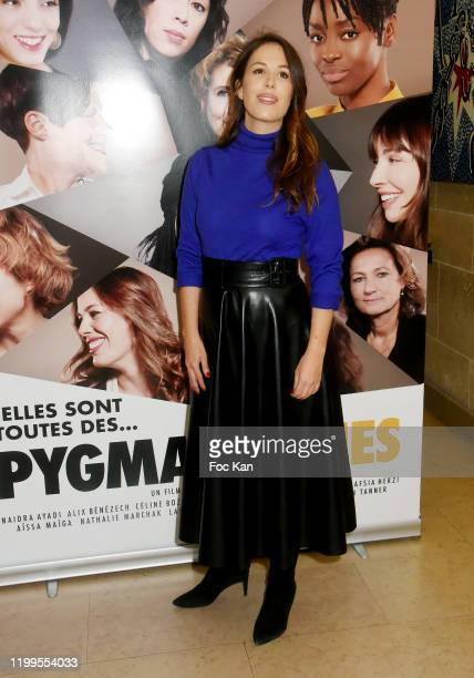 Actress Nathalie Marchak attends Pygmalionnes Screening at Assemblee Nationale on January 14 2020 in Paris France