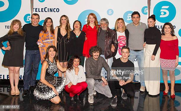 Actress Nathalie Sesena actor Luis Merlo actress Macarena Gomez actress Vanesa Romero actress Petra Martinez actress Cristina Castano actor Ricardo...