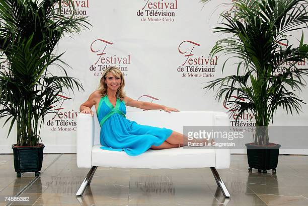 Actress Nathalie Vincent attends a photocall on the third day of the 2007 Monte Carlo Television Festival held at Grimaldi Forum on June 13 2007 in...