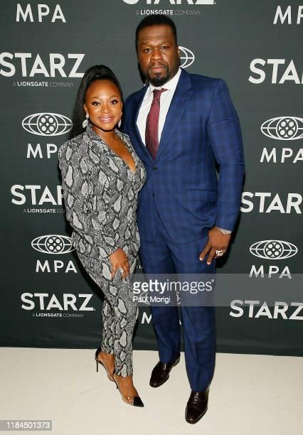 Actress Naturi Naughton and Executive Producer Curtis 50 Cent Jackson attend STARZ' Power season 6 MidSeason Finale advanced screening and reception...