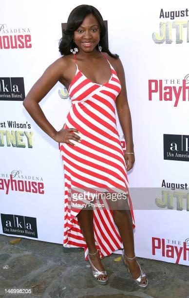 Actress Naturi Naughton attends Opening Night Performance of August Wilson's Jitney at the Pasadena Playhouse on June 24 2012 in Pasadena California