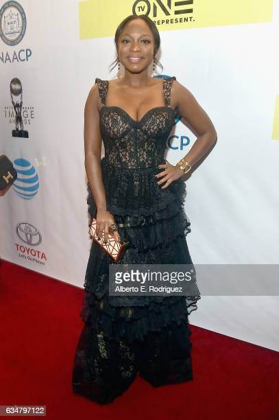 Actress Naturi Naughton attends the 48th NAACP Image Awards at Pasadena Civic Auditorium on February 11 2017 in Pasadena California