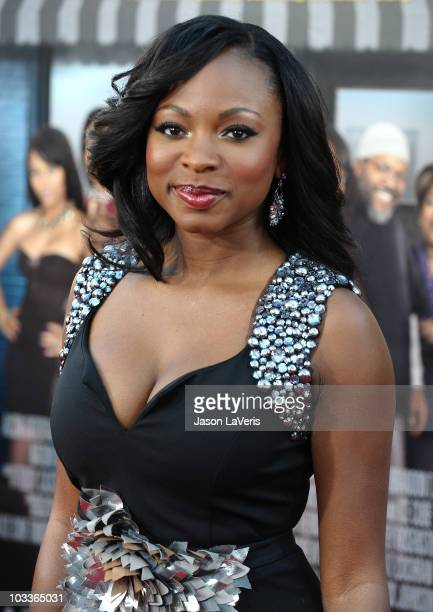 Actress Naturi Naughton attends the premiere of Lottery Ticket at Grauman's Chinese Theatre on August 12 2010 in Hollywood California