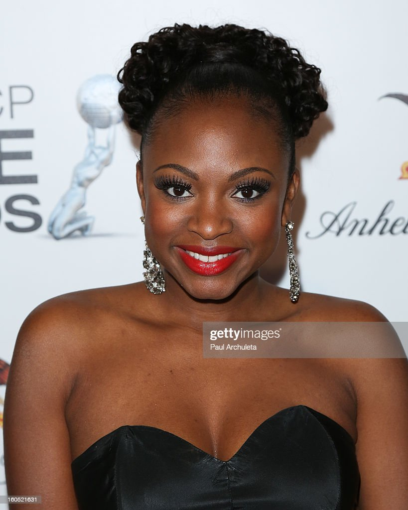 Actress Naturi Naughton attends the The 44th NAACP Image Awards post show gala at the Millennium Biltmore Hotel on February 1, 2013 in Los Angeles, California.