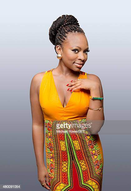 Actress Naturi Naughton poses for a portrait at the 2015 BET Awards on June 28 2015 at the Microsoft Theater in Los Angeles California