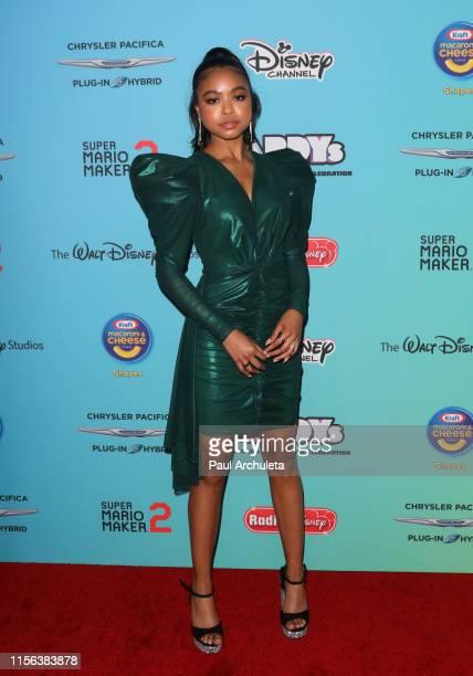 Actress Navia Robinson attends the 2019 Radio Disney Music Awards at CBS Studios Radford on June 16 2019 in Studio City California