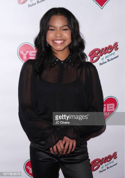 Actress Navia Robinson attends YSBNow Holiday Dinner and Toy Drive at Buca di Beppo CityWalk on December 05 2018 in Universal City California