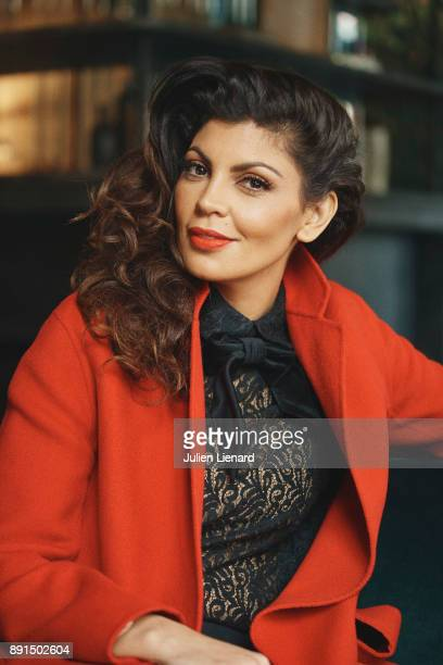 Actress Nawell Madani is photographed for Self Assignment in November 2017 in Paris France