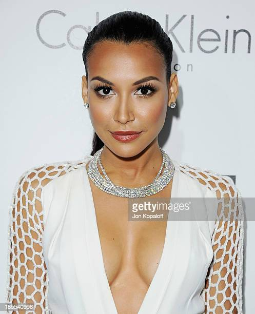 Actress Naya Rivera arrives at ELLE Celebrates 20th Annual Women In Hollywood Event at Four Seasons Hotel Los Angeles at Beverly Hills on October 21...