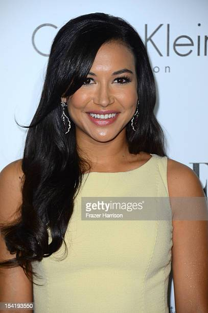 Actress Naya Rivera arrives at ELLE's 19th Annual Women In Hollywood Celebration at the Four Seasons Hotel on October 15 2012 in Beverly Hills...