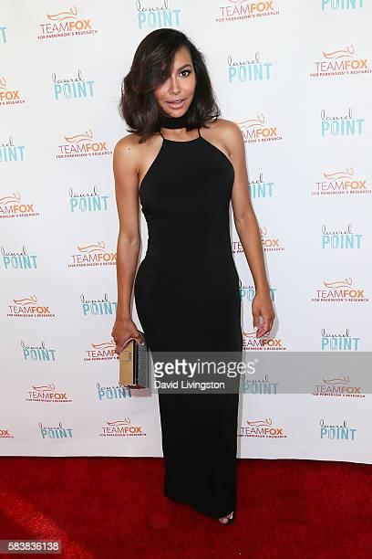 Actress Naya Rivera arrives at Raising The Bar To End Parkinson's at Laurel Point on July 27 2016 in Studio City California
