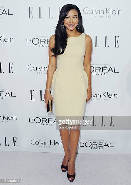 Actress Naya Rivera arrives at the 19th Annual ELLE Women In Hollywood Celebration at the Four Seasons Hotel Los Angeles at Beverly Hills on October...