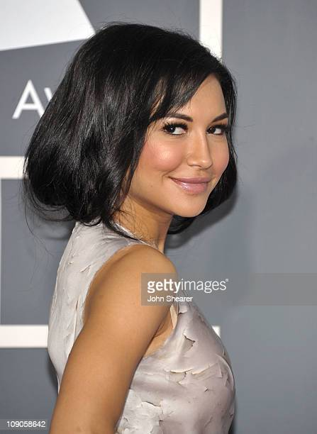 Actress Naya Rivera arrives at The 53rd Annual GRAMMY Awards held at Staples Center on February 13 2011 in Los Angeles California