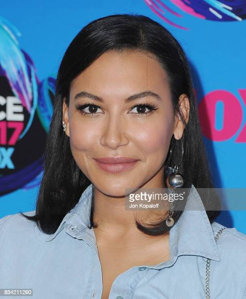 Actress Naya Rivera arrives at the Teen Choice Awards 2017 at Galen Center on August 13 2017 in Los Angeles California