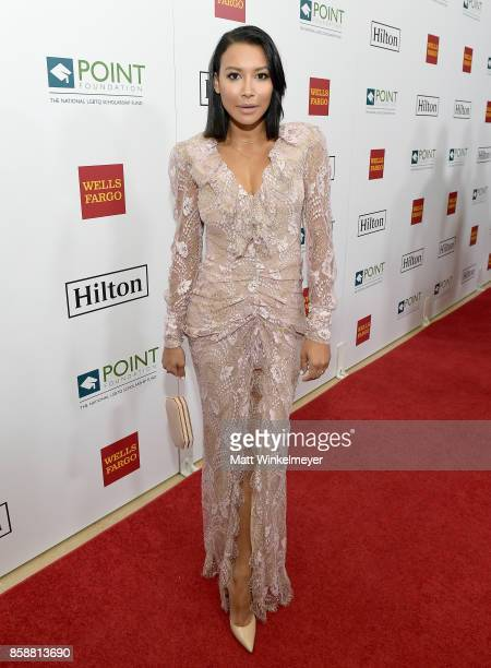 Actress Naya Rivera at Point Honors Los Angeles 2017 benefiting Point Foundation at The Beverly Hilton Hotel on October 7 2017 in Beverly Hills...