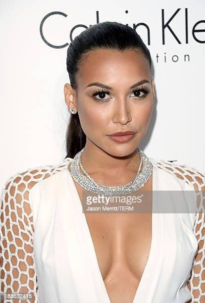 Actress Naya Rivera attends ELLE's 20th Annual Women In Hollywood Celebration at Four Seasons Hotel Los Angeles at Beverly Hills on October 21 2013...