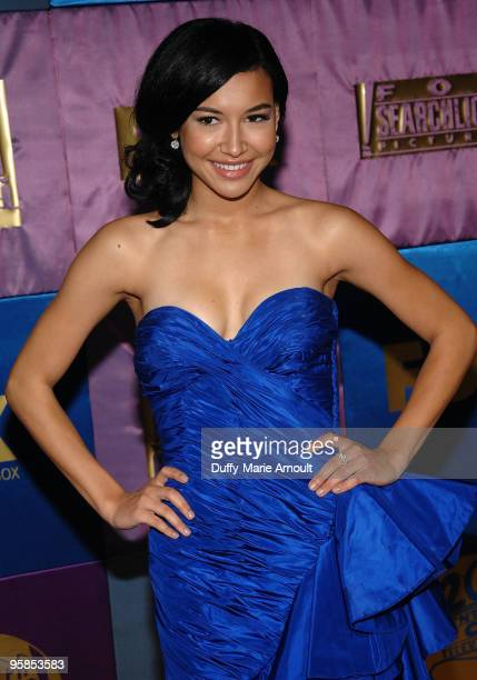 Actress Naya Rivera attends Fox's 2010 Golden Globes Awards Party at Craft on January 17 2010 in Century City California