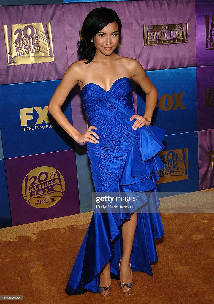 Actress Naya Rivera attends Fox's 2010 Golden Globes Awards Party at Craft on January 17, 2010 in Century City, California.