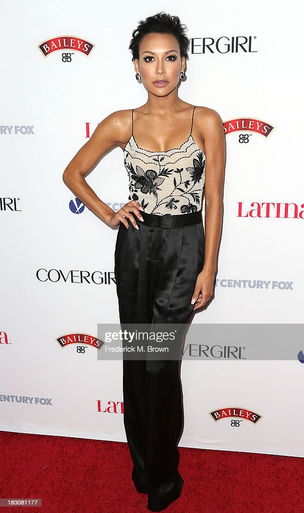 Actress Naya Rivera attends Latina Magazine's 'Hollywood Hot List' Party at The Redbury Hotel on October 3, 2013 in Hollywood, California.