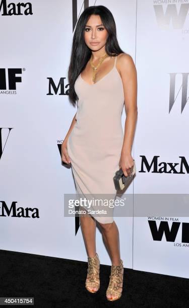 Actress Naya Rivera attends MaxMara And W Magazine Cocktail Party To Honor The Women In Film MaxMara Face Of The Future Rose Byrne at Chateau Marmont...