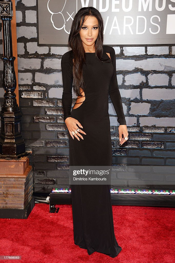 Actress Naya Rivera attends the 2013 MTV Video Music Awards at the Barclays Center on August 25, 2013 in the Brooklyn borough of New York City.